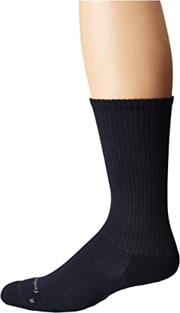 Casual Rib Cushion Crew Sock
