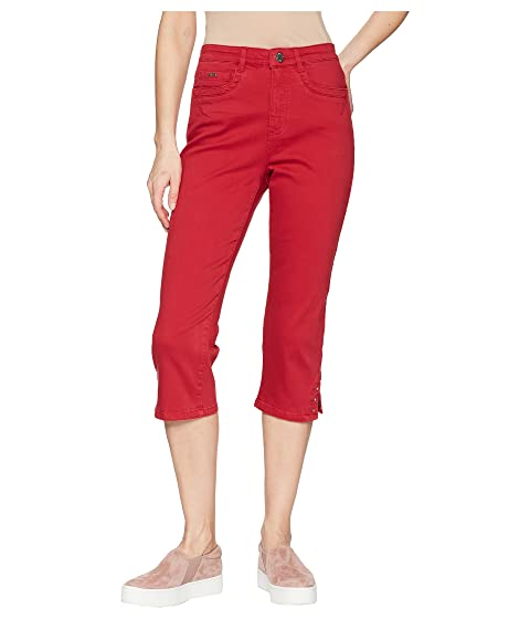 4001eddd05 FDJ French Dressing Jeans Sunset Hues Suzanne Capris in Red at 6pm