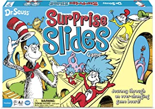 Wonder Forge Dr. Seuss Surprise Slides Board Game for Boys & Girls Age 3 & Up - Journey Through an Ever-Changing Game Board!