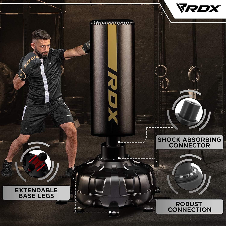 Sports & Outdoors Muay Thai Boxing RDX Freestanding Punching Bag ...