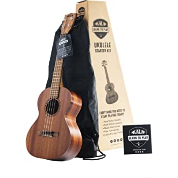 Kala KA-ASAC-T - Ukelele tenor (madera maciza de acacia): Amazon ...