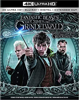 Fantastic Beasts : The Crimes of Grindelwald | 4K Ultra HD + Blu-ray | Arabic Subtitle Included