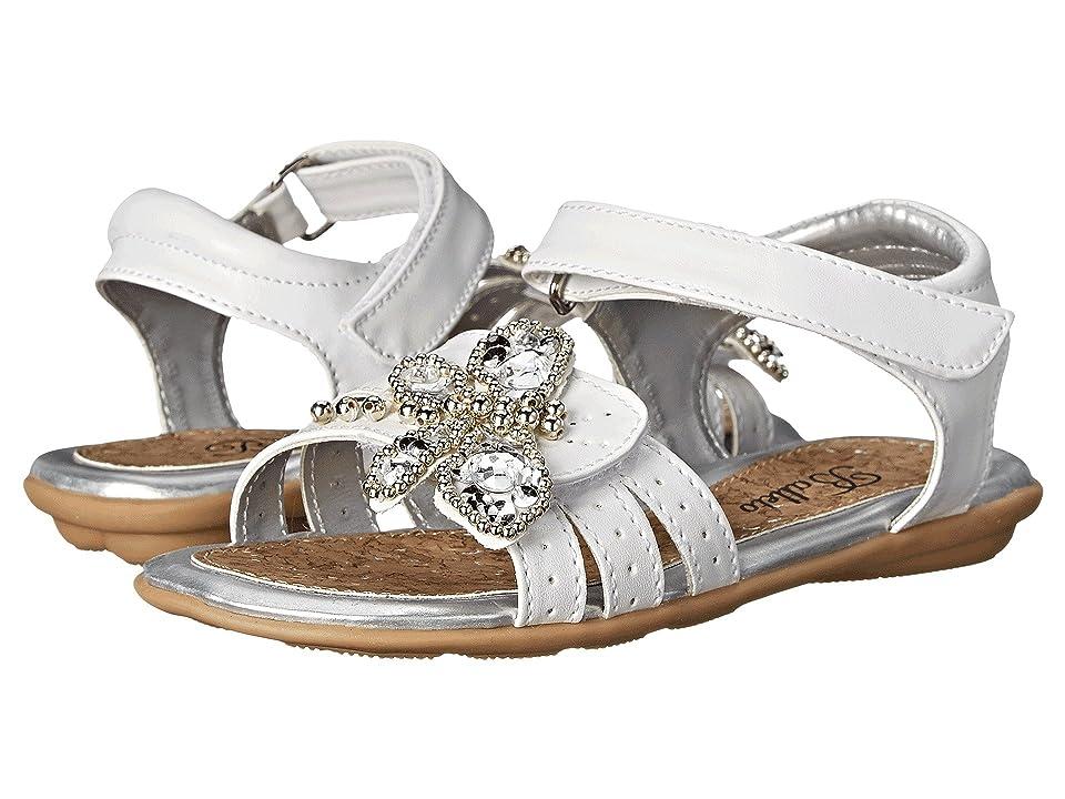 Jumping Jacks Kids Balleto Dragonfly (Toddler/Little Kid/Big Kid) (White) Girls Shoes