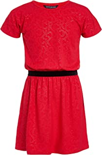 Calvin Klein Big Girls' Short Sleeve Fashion Dress
