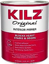 KILZ Original Multi-Surface Stain Blocking Interior Oil-Based Primer/Sealer (Low VOC Formula), 1 Quart, White