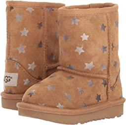 UGG Kids Classic Short II Stars (Toddler/Little Kid)