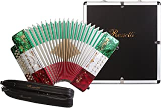 Rossetti, 31-Key Accordion (ROS3112-GCF-MEX)