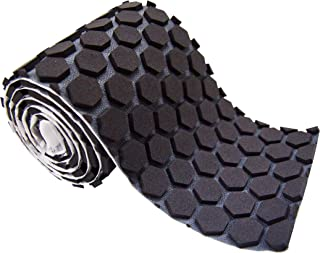 McDavid Hex Skin Protective Padded Performance Tape Roll, Black, One Size