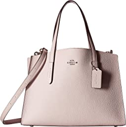 Charlie Carryall in Polished Pebble Leather