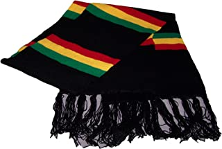 Reggae Rasta Scarves With Fringes - Gifts (46102 Z)