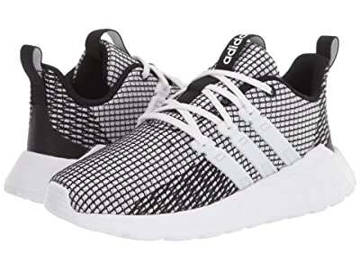 adidas Kids Questar Flow (Little Kid/Big Kid) (Footwear White/Footwear White/Core Black) Kid