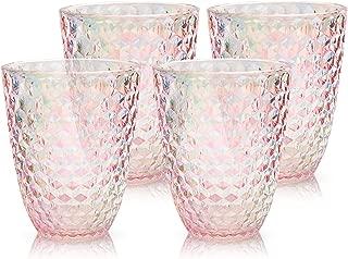 designer plastic drinking glasses