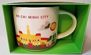 Starbucks You Are Here mug, Ho Chi Minh City Vietnam, 14oz