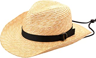 (田中帽子) Alek (アレック) 麦わら ウエスタン風ハット (麦わら帽子 メンズ ストロー テンガロン ウエスタン風ハット ギフト 誕生日 男性 プレゼント 人気商品 日本製 )UK-H110