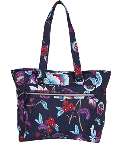 Vera Bradley Performance Twill Work Tote (Mayfair in Bloom) Tote Handbags