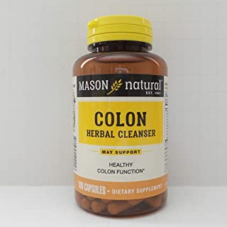 Mason Natural Colon Herbal Cleanser, 100 Capsules