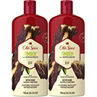 2-Pack Old Spice 25-oz. 2-in-1 Shampoo & Conditioner