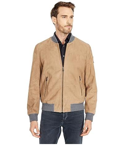 BELSTAFF Harbour Lightweight Suede Jacket (Fallow) Men