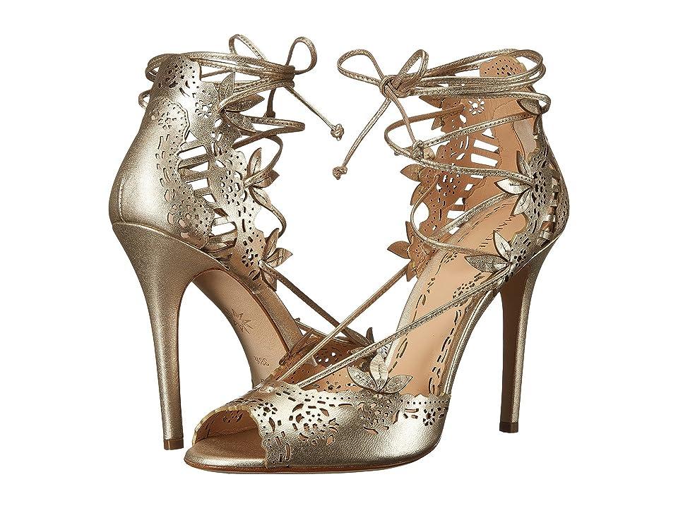 Marchesa Clara (Gold Nappa Leather) High Heels
