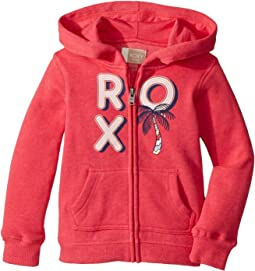 Roxy Kids - Autumn Wind Multi Palm Tree Hoodie (Toddler/Little Kids/Big Kids)