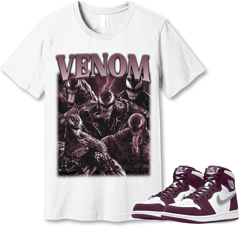 #Venom T-Shirt to Match Jordan 1 Got San Francisco Mall Sneaker T Snkrs OFFicial site Bordeaux Em