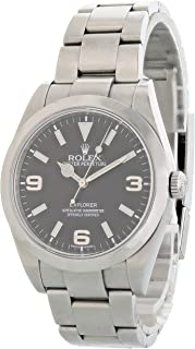 Explorer Automatic-self-Wind Male Watch 214270 (Certified Pre-Owned)