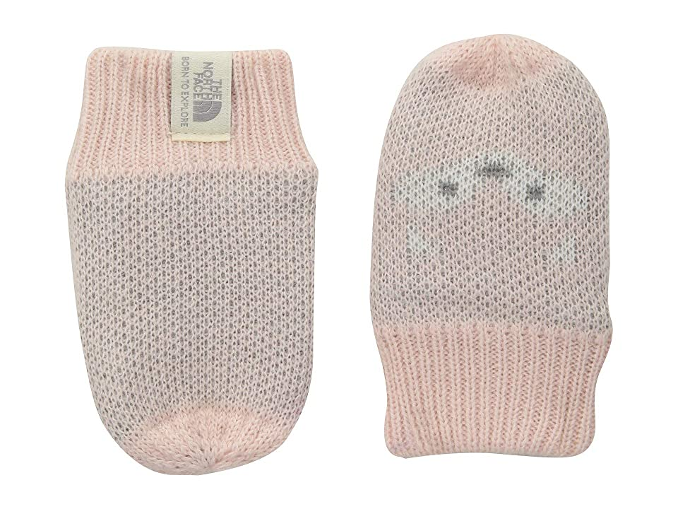 The North Face Kids Friendly Faces Mitt (Infant) (Purdy Pink) Extreme Cold Weather Gloves
