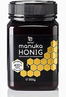 Larnac Manuka Honig 420 MGO aus Neuseeland, 500g, zertifizierter Methylglyoxalgehalt