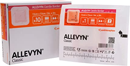 Allevyn Smith and Nephew 66800276 Gentle Border Dressing 3