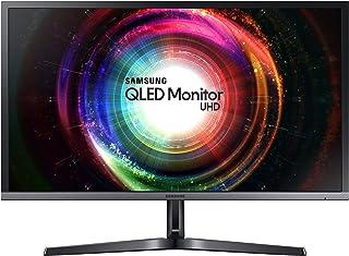 "Samsung 29.7"" Ultra HD QLED Monitor,Black/Silver,LU28H750"