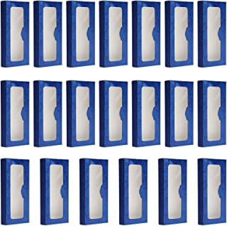 Lurrose 20Pcs Papel Caixa De Armazenamento De Cílios Cílios Vazias Embalagens de Papel Caixa de Armazenamento Casos de Cíl...