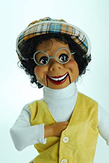 Lester Famous Ventriloquist Doll created by Willie Tyler starred on Rowan & Martin's Laugh-In. BONUS E-Book 'How to Be a Ventriloquist'