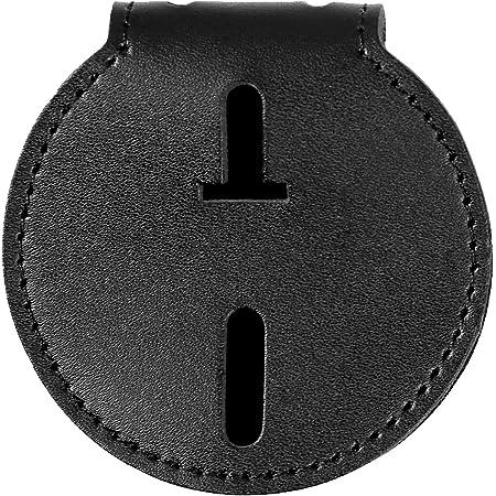 Plain Black Safariland 7350-01-2 Circular Badge Holder