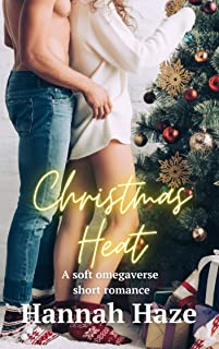 Christmas Heat : A soft and steamy non-shifter omegaverse romance (Omega's Heat) (English Edition)