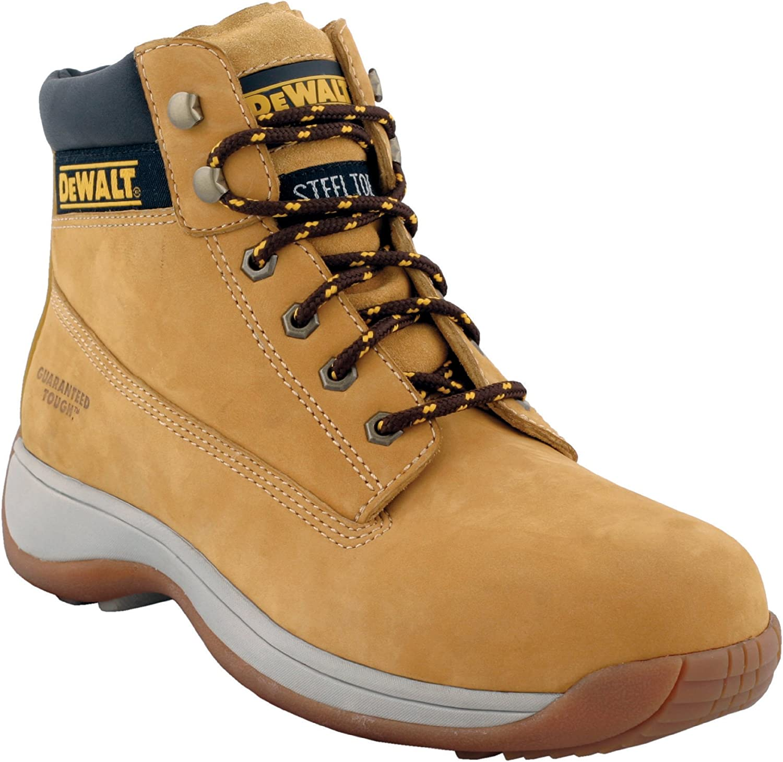 DeWalt APPRENT9 Apprentice Nubuck Sports Boots 9 - 43 - Wheat