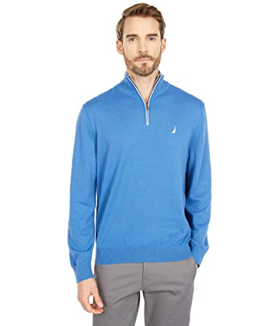 Nautica Navtech 1/4 Zip Sweater (Delft) Men