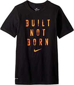 Nike Kids Dry Built Not Born Tee (Little Kids/Big Kids)