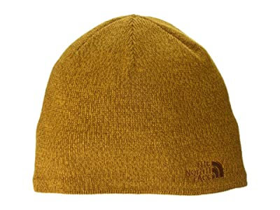 The North Face Jim Beanie (Timber Tan/Citrine Yellow) Beanies