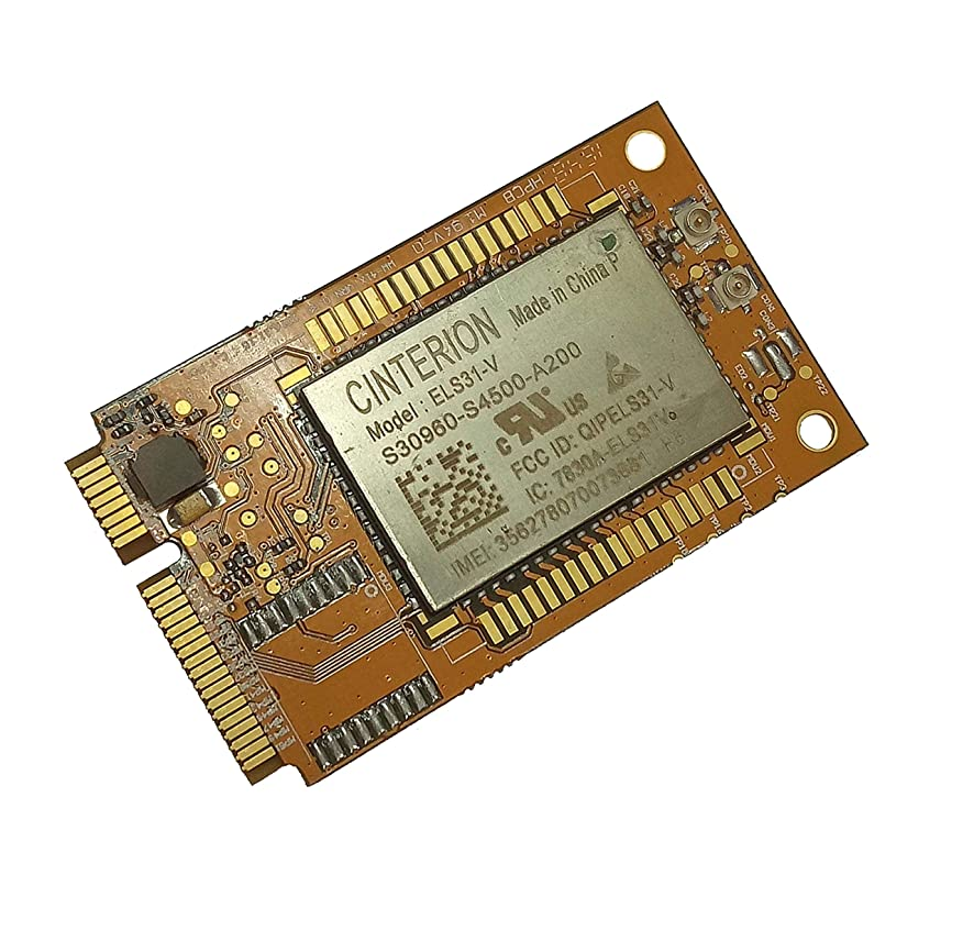 Navisys Verizon Approval Gemalto 4G LTE Mini PCIe Card with sim Slot