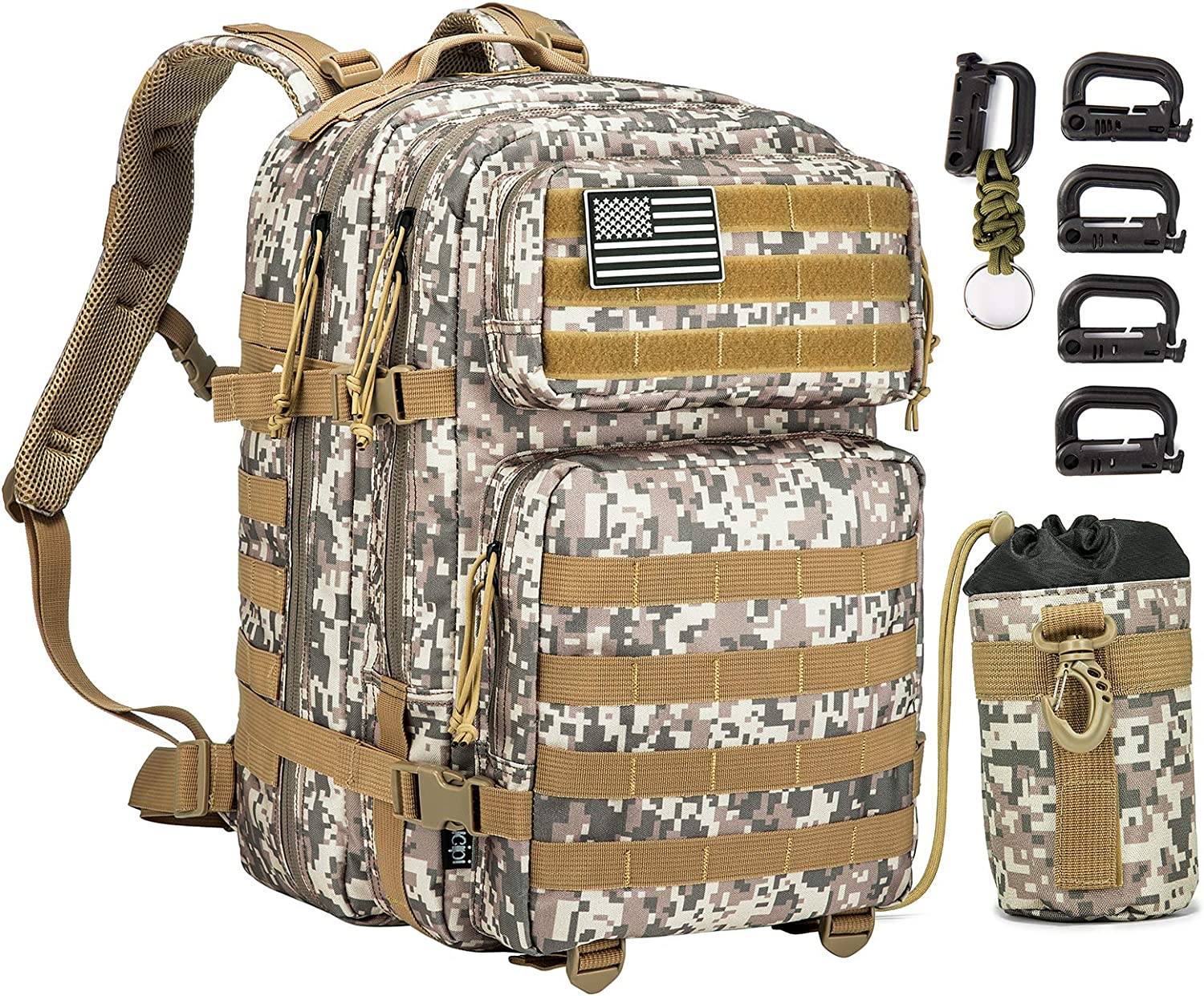 Military Tactical New popularity Backpack with Gifts Gun Holster Sucipi Large Day A 3