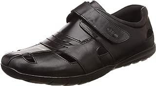 Scholl Men's Steve FM Leather Sandals