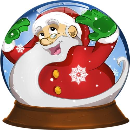 Globo de neve de Natal para Crianças