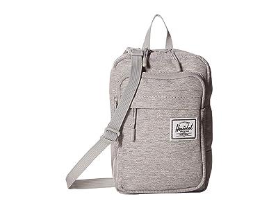 Herschel Supply Co. Form Crossbody Large (Light Grey Crosshatch) Cross Body Handbags
