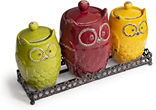 Best owl canister sets Reviews