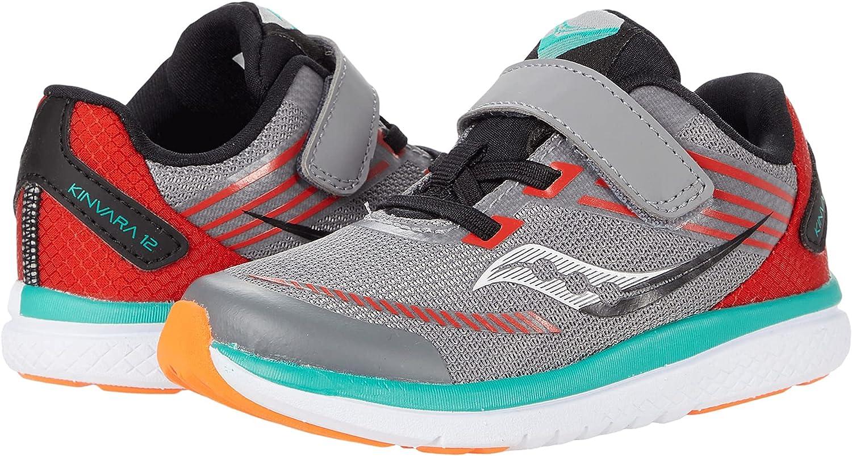 Saucony Kinvara 12 Dealing full price reduction JR Running Shoe 6.5 Orange Award Wide Grey US Uni