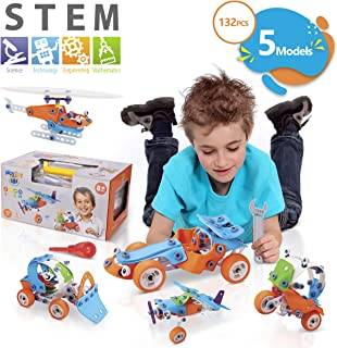 NOYTOY STEM Learning Toys 5IN1 Educational Engineering...