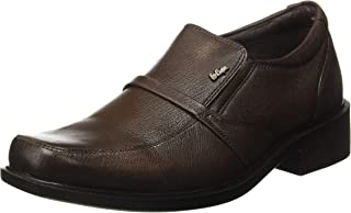 Lee Cooper Men's Lc1483ebrown Leather Formal Shoes