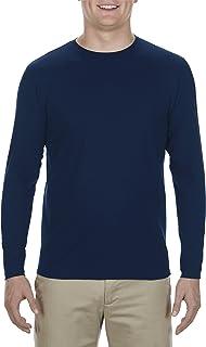Alstyle Apparel AAA Men's Ultimate Lightweight Ringspun Long Sleeve T-Shirt