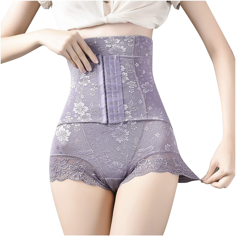 Women Tummy Control Shapewear - High Waist Body Shaper Shorts Seamless Butt Lifter Thigh Slimmer Boyshorts Panties