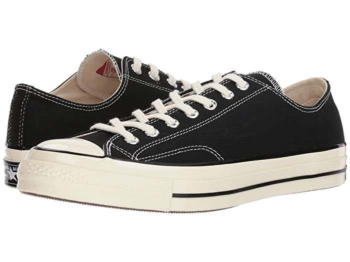 Converse  Chuck Taylor All Star 70 Ox (Black/Black/Egret) Athletic Shoes